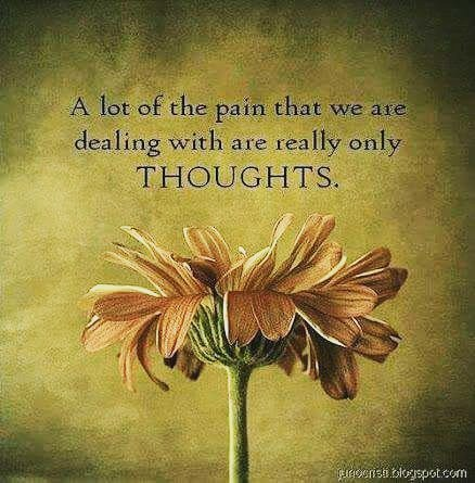 thoughts are painful
